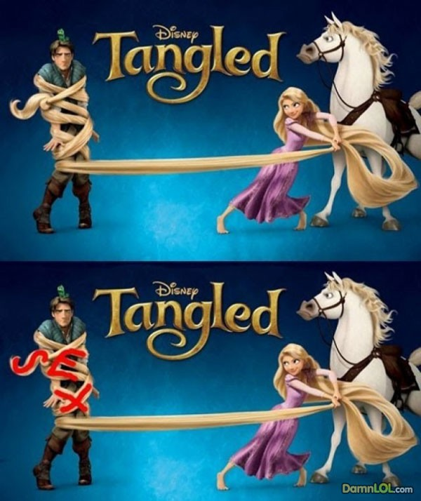 "Film ""Tangled"" de Disney"