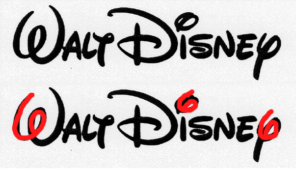 signature de Walt Disney©®
