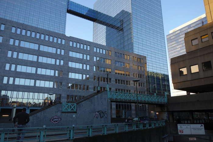 — Immeubles près de la Gare du Nord — Bruxelles —