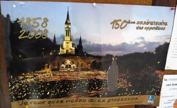 150e anniversaire des apparitions Lourdes