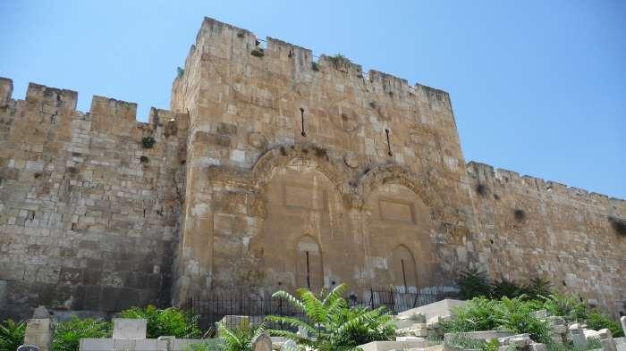 — Porte Dorée — Jérusalem —