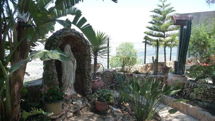 — Statue de Marie — Mont Carmel —