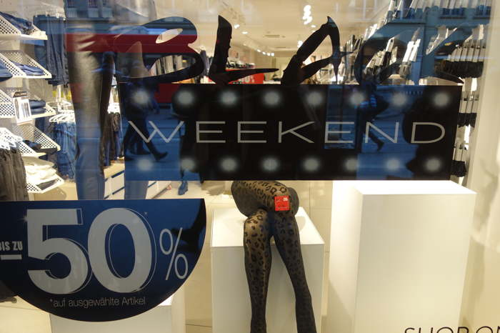 Black-Week-end — Commerce sur la Spital Gasse - Berne