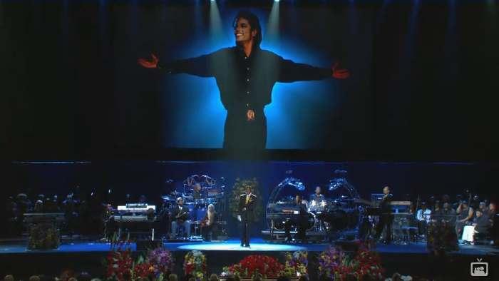 """— """"Michael Jackson's Mémorial service"""""""