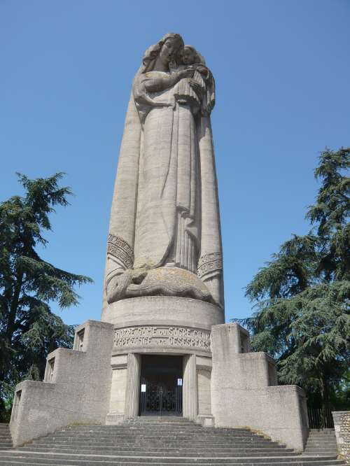 Vierge monumentale de Miribel
