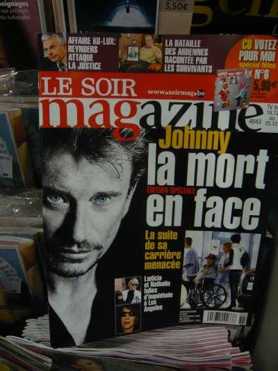 """""""Le Soir Magazine"""" en kiosque — Bruxelles"""