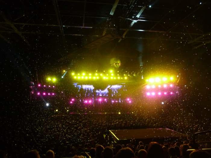 "— Concert: ""Tour 66"" de Johnny Hallyday —"