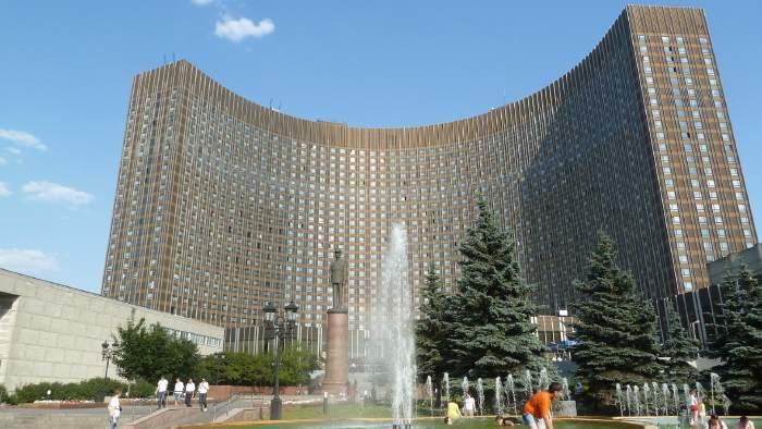 — Hotel Cosmos — Prospect Mira — Moscou —