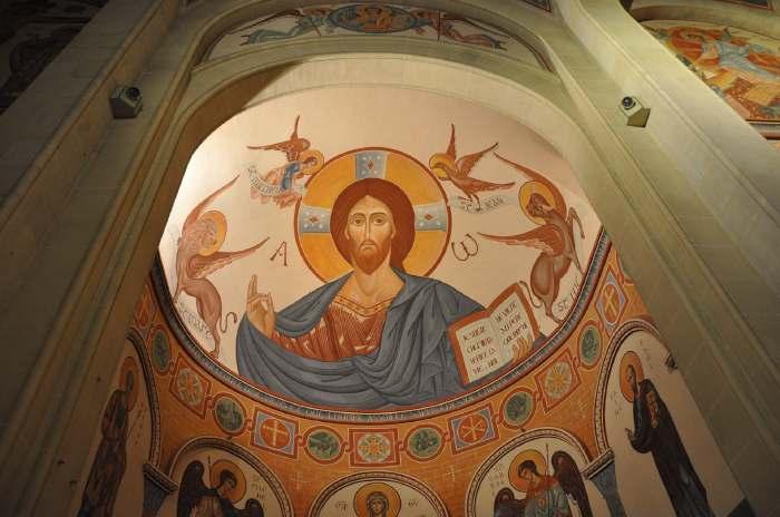 — Fresque de voûte - Eglise St Nazaire - Sanary —
