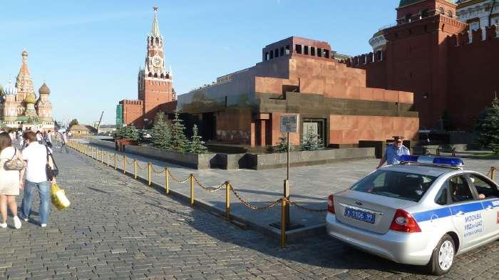 — Mausolée de Lénine — Place Rouge — Moscou —
