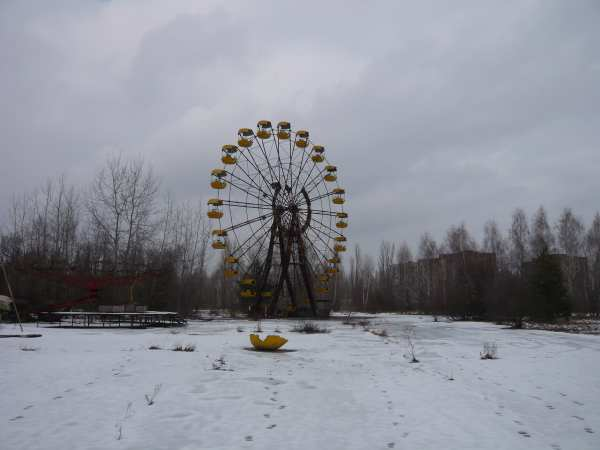 - Parc d'attractions dans la ville de Prypiat -