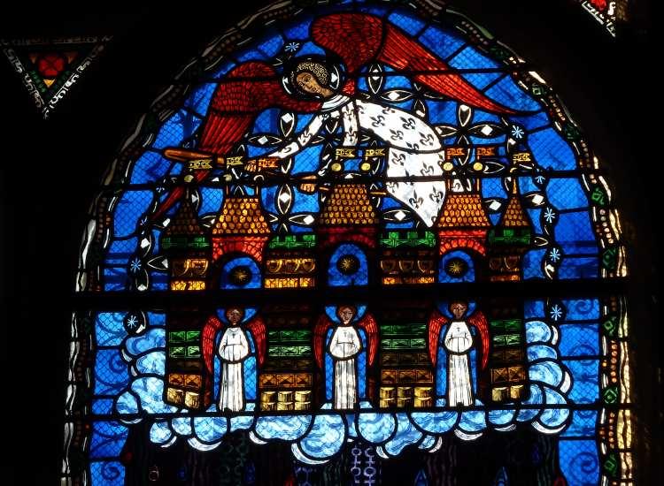 Mesure de la Jérusalem céleste