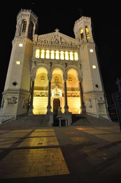— Basilique de Fourvière - Fête des Lumières - Lyon —