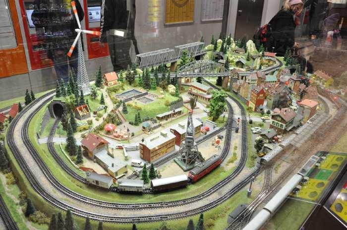 — Maquette dans la gare ferroviaire - Cologne —