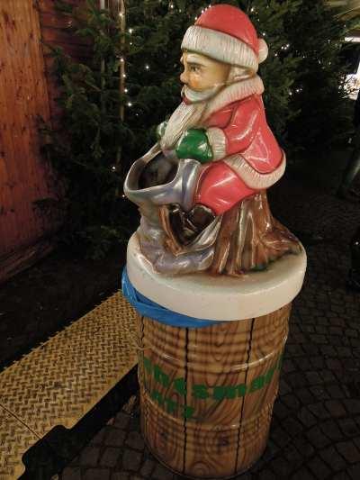 — Poubelle de marché de Noël - Cologne —