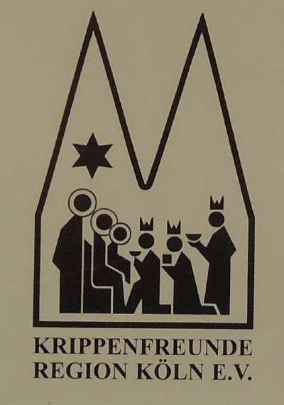 """— """"Krippenfreunde """" ou """"Amis des crèches"""" - Commerzbank - Cologne —"""