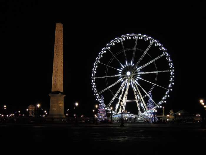 — Place de la Concorde et Grande roue - Paris —