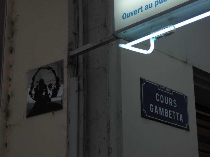 — Plaques de rue - Fête des Lumières - Lyon —