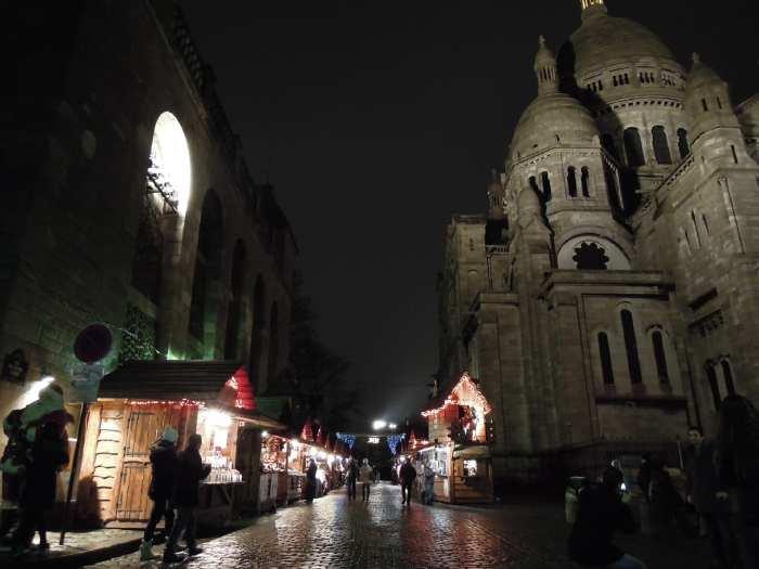 — Basilique du sacré-cœur et marché de Noël - Paris —