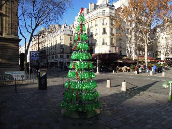 """— """"Sapin de Noël"""" près de l'Hôtel de ville - Paris —"""