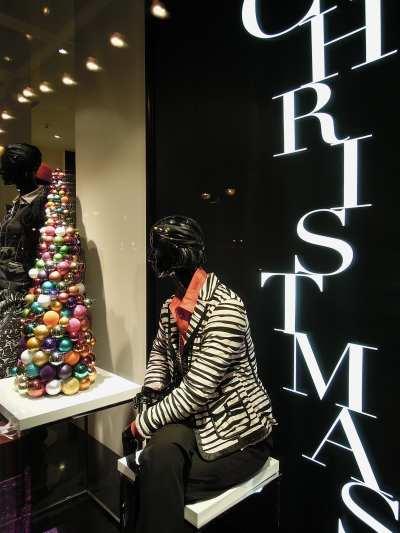 — Décoration de Noël dans une vitrine - Cologne —