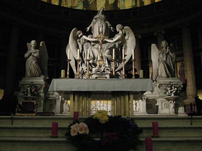 — Maitre-autel - Eglise de la Madeleine - Paris —