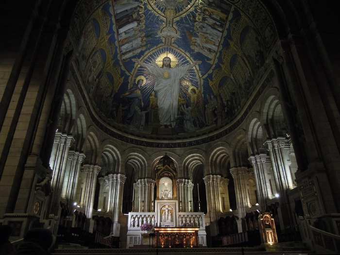 — Maitre-autel de la basilique du sacré-cœur - Paris —
