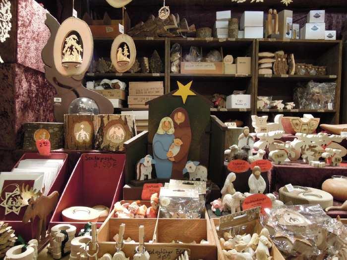 — Articles artisanaux - Marché de Noël dans la vieille ville - Cologne —