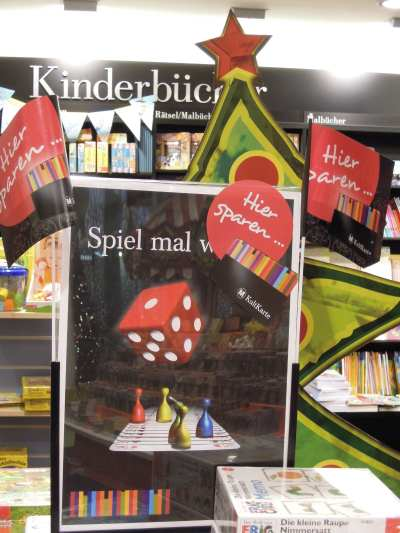 — Décoration de Noël chez un libraire - Cologne —