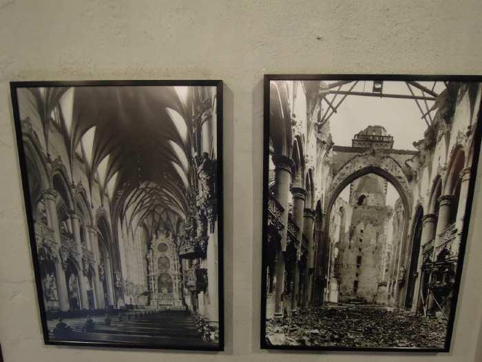 — Eglise Maria Himmelfahrt photographiée avant et en sortie de la guerre 39/45 - Cologne —