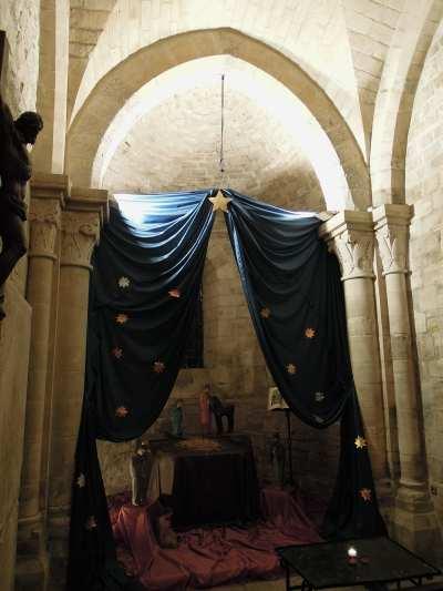 — Crèche dans l'Eglise sur la butte de Montmartre - Paris —