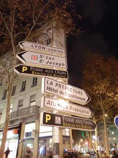 """— Panneaux """"Fosse aux ours"""" - Fête des Lumières - Lyon —"""