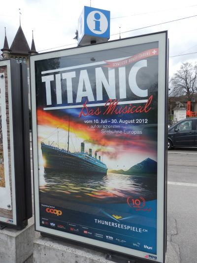 """— """"Titanic: Das Musical"""" - Berne —"""