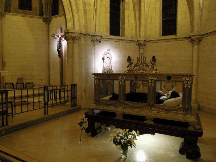 """Châsse de """"Sainte"""" Bernadette - Couvent St Gildard - Nevers"""