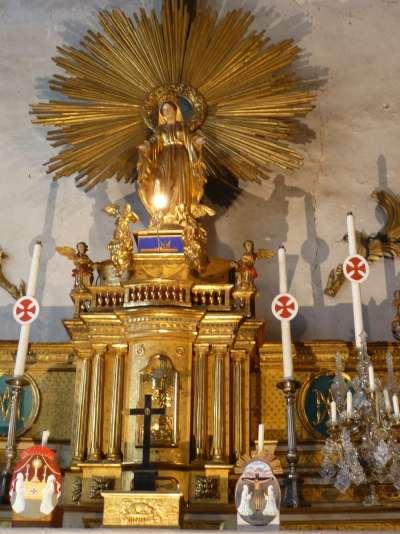 Autel de la chapelle des Pénitents — Le Puy en Velay