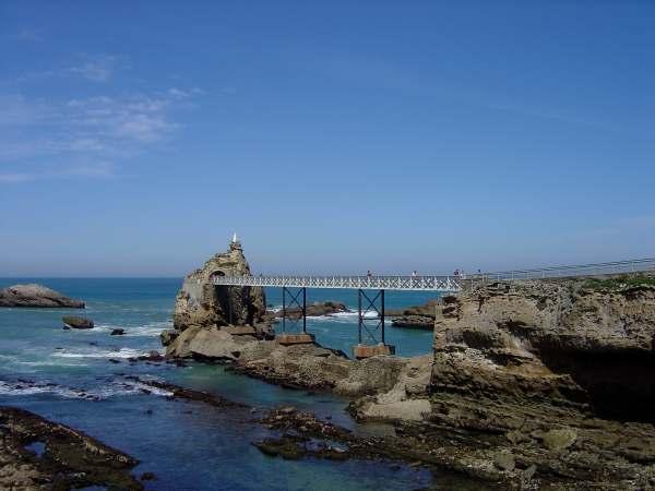 Rocher de la Vierge — Biarritz