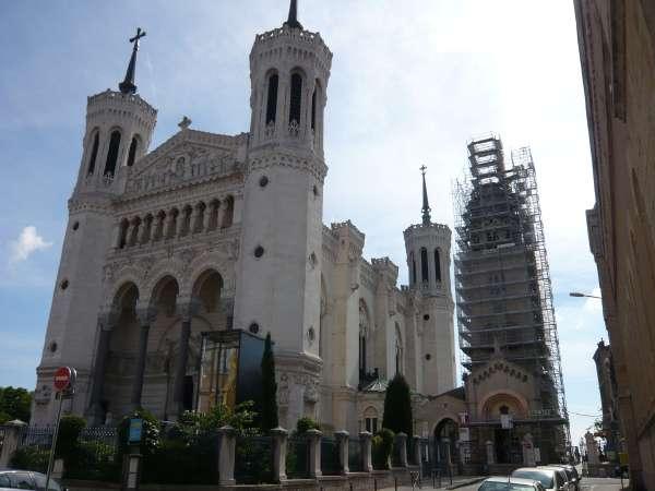 Basilique de Fourvière et Tour de la Lanterne