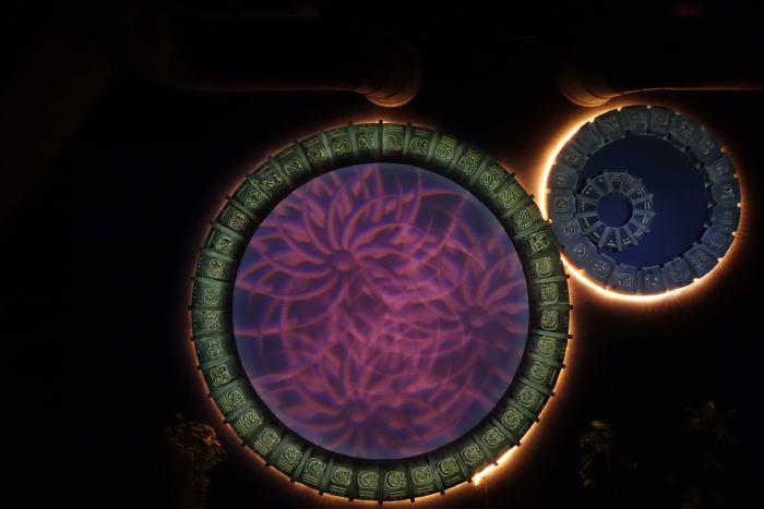 — Roues du calendrier Maya virtuelles - Pavillon Maya - Jungfrau Park - Interlaken (CH) —