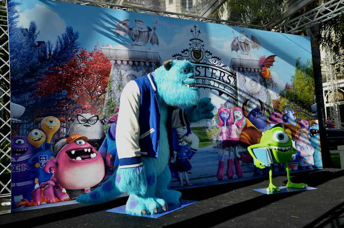 "- Film d'animation: ""Monsters University"" -"