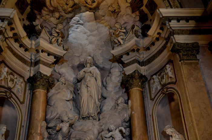 Vierge couronnée à l'enfant — Cathédrale Notre-Dame-de-la-Seds — Toulon