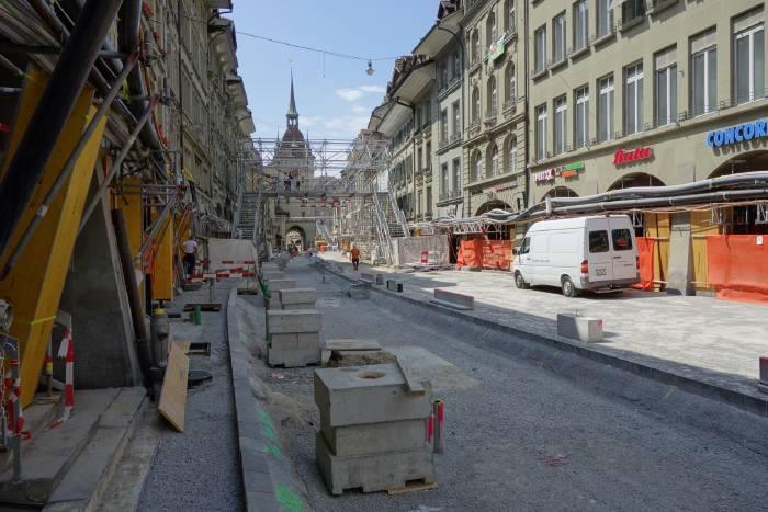 — Marktgasse direction Tour de la prison — Bern/Berne —