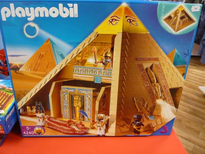Jeu Playmobil vu dans un supermarché de Cologne
