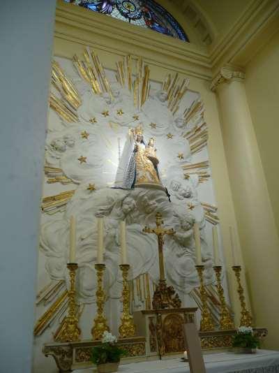Vierge à l'enfant — Eglise de Coudenberg — Bruxelles