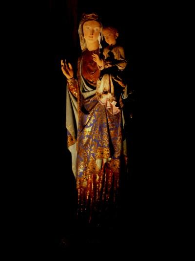 Vierge à l'enfant — cathédrale de Clermont-Fd