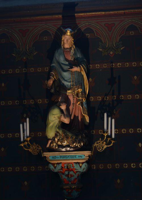 Notre Dame du Purgatoire!!!! (PPN=Priez pour nous)  — Cathédrale Notre Dame de l'Assomption — Clermont-Ferrand —