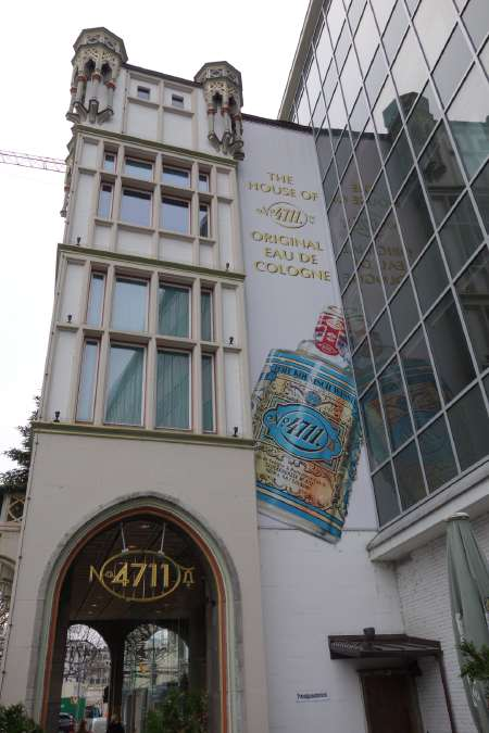 — N° 4711 — Immeuble 4711 original — Cologne —