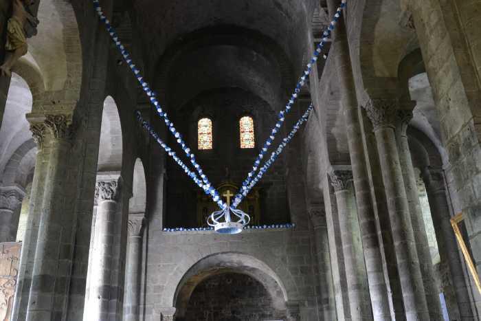 Couronne de la Vierge — Basilique Notre-Dame d'Orcival