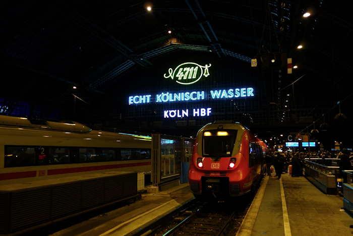 — Gare De Cologne — Cologne —