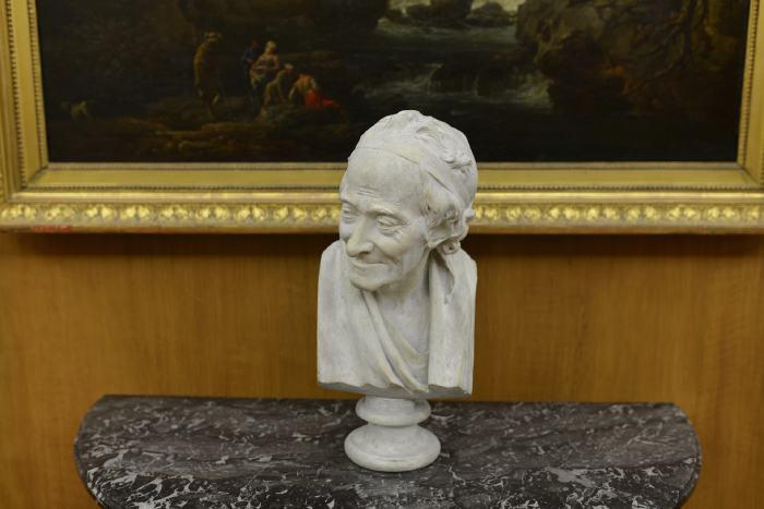 — Buste de Voltaire exposé au petit-Palais - Paris —