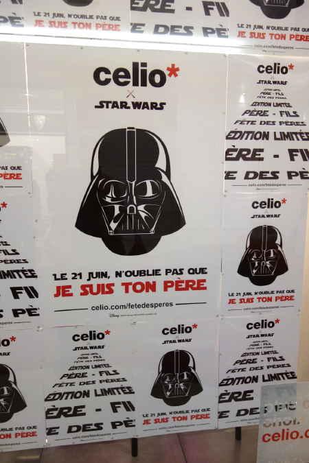 Affichage boutique CELIO
